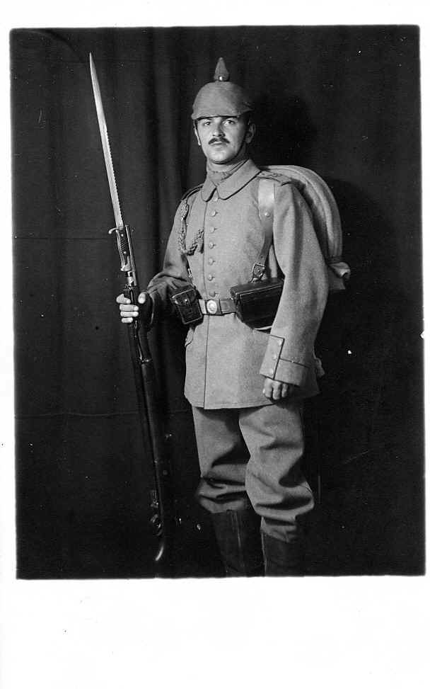 Image result for ww1 German soldier with bayonet